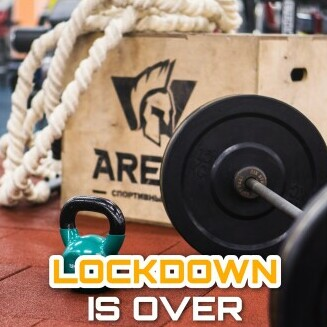 LOCKDOWN IS OVER!